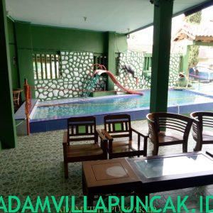 Villa Puncak Fasilitas Kolam Renang, Karaoke & Billiard