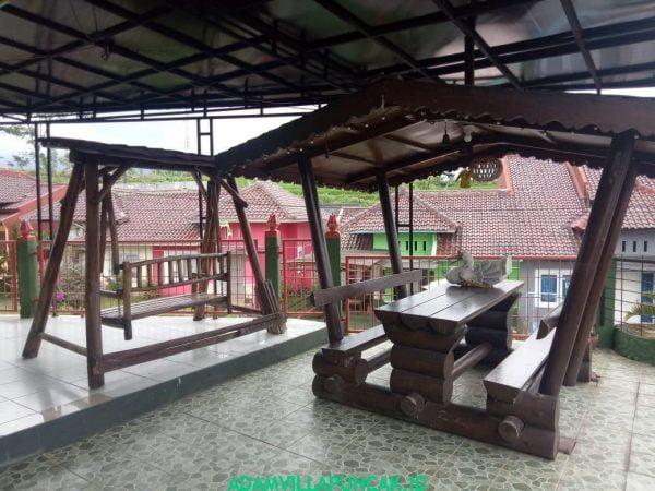 Villa Hijau Puncak 5 Kamar Fasilitas Kolam Renang, Karaoke & Billiard