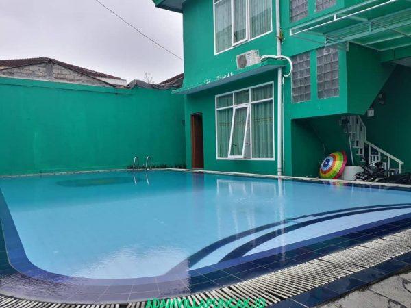 Villa Hijau Cipanas 3 Kamar Private Pool & Billiard