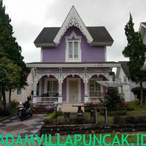villa ungu puncak 2 kamar tidur