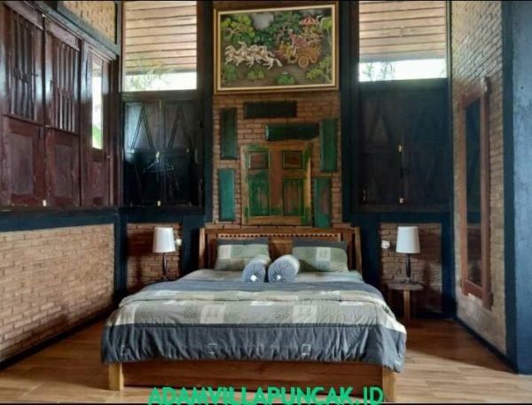 Villa Puncak 4 Kamar Kolam Renang, Aula & Karaoke