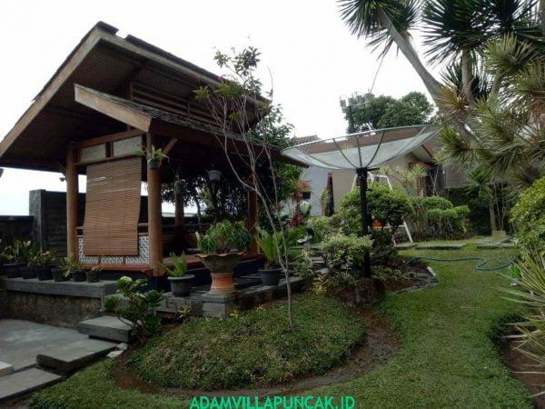 Villa Jono Cipanas 4 BR Kolam Renang View Bagus