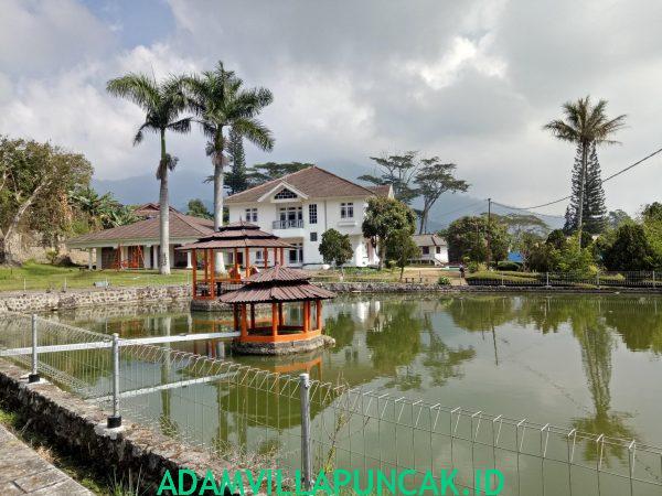 Vila SRJ Puncak 8 Kamar, Kapasitas 100 Orang