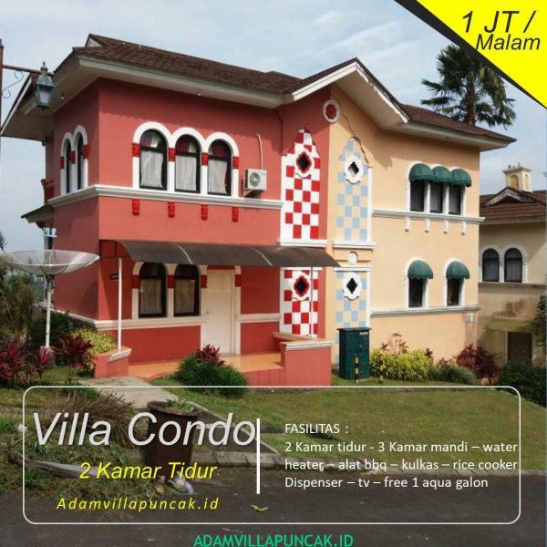 Villa Condo 2 Kamar Di Little Venice Yang Unik