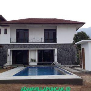 Villa Putih 6 Kamar Kolam Renang Pribadi View Gunung