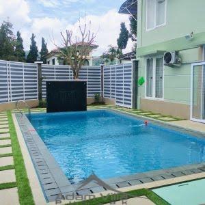 Villa Minimalis 4 Kamar Kolam Renang Pribadi