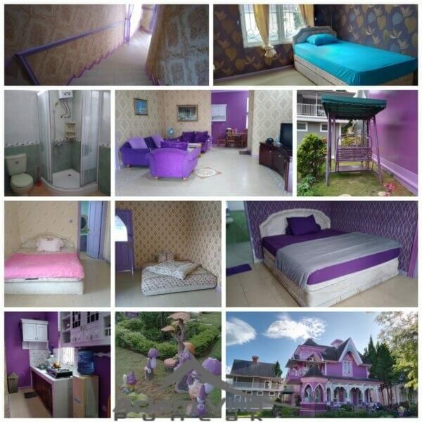 Villa Ungu 4 Kamar Tidur Di Little Venice Puncak