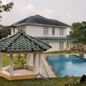 Villa Agung Puncak 6 Kamar Kolam Renang Pribadi